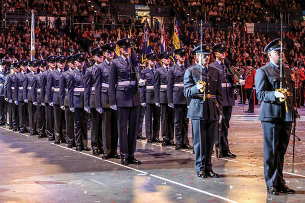 RAF Cosford willtake part in the Birmingham Tattoo